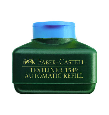 Nachfüllfarbe für Textliner 48 blau 30 ml