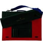 Zeichenplattentasche A3 rot/grün