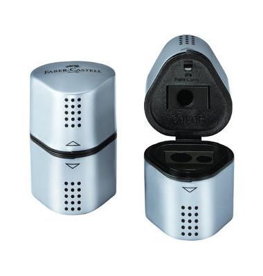 Dreifach-Spitzdose Grip2001 bis 10mm silber/schwarz