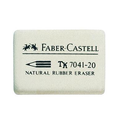 Radiergummi 40 x 27 x 13mm 7041-20 weiß