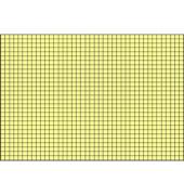 Karteikarten 22502 A5 kariert 190g gelb 100 Stück