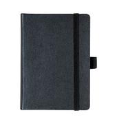 Notizbuch KOMPAGNON blanko A6 Einband schwarz 96 Blatt