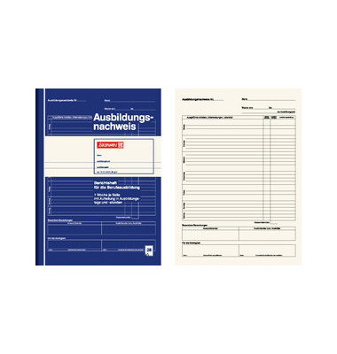Berichtsheft DIN A4 28 Seiten 10 Stück