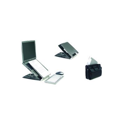 Laptopständer Ergo-Q 330 schwarz/silber 228x310x193 485g