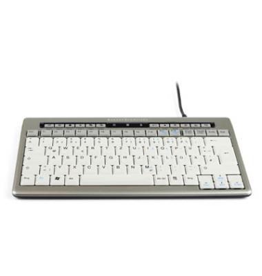 Tastatur S board 840 USB Kabel silber