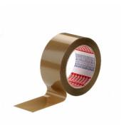 Packband tesapack 4124 25mm x 66m braun PVC