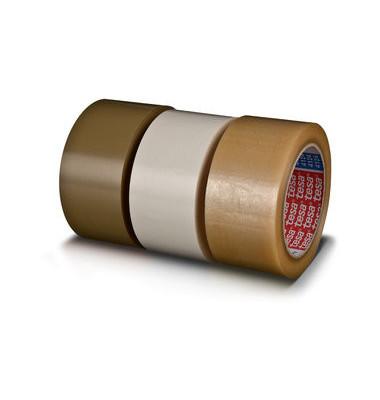 Packband tesapack 4124 50mm x 66m weiß PVC