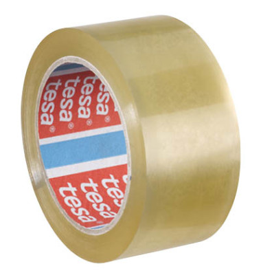 Packband tesapack 4195 50mm x 66m transparent PP