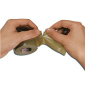 Packband Tesapack Express 05079-00006-01, 38mm x 33m, PVC, handabreißbar, braun