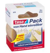 Packband Tesapack Express 05079-00005-01, 38mm x 33m, PVC, handabreißbar, transparent