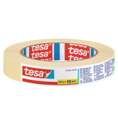 Kreppband 05286-00000 Basic 19mm x 50m beige ablösbar