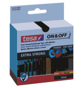 Klettband ON&OFF Extra Strong 50mm x 1m schwarz