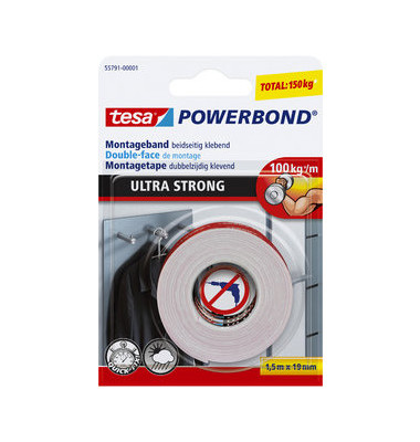 Powerband UltraStrong doppels. 19mm x 1,5m