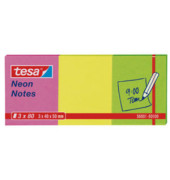 Haftnotizen 40 x 50mm neon gelb/grün/rosa 3 x 80 Blatt