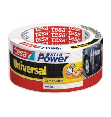 Gewebeband extra Power 5638 50mm x 25m weiß