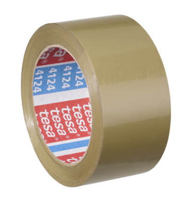 Packband Tesapack 4124  Ultra Strong  57177  50mm x 66m, PVC, leise abrollbar, braun