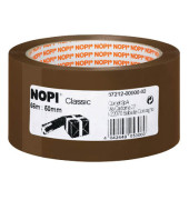 Packband Classic 57212-00000, 50mm x 66m, PP, leise abrollbar, braun