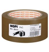 Packband 57215 50mm x 66m braun PVC