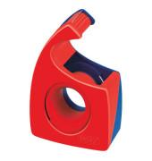 Handabroller Easy Cut bis 19mm x 10m leer rot/blau