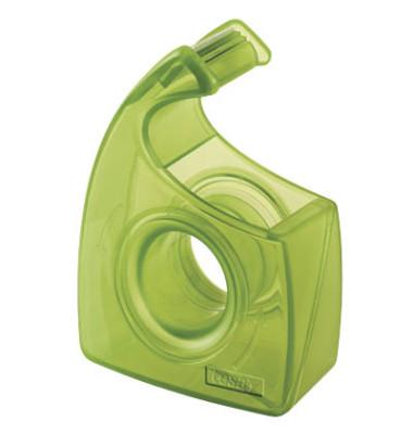 Handabroller Easy Cut ecoLogo bis 19mm x 10m leer grün