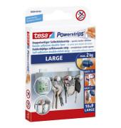 Powerstrips Large bis 2kg doppelseitig wiederablösbar 20x50mm