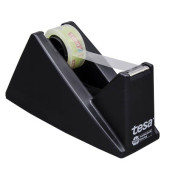 Tischabroller ECO & CLEAR bis 19mm x 33m schwarz gefüllt
