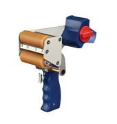 Packbandabroller 06075-00000-00, mit Bremse + Abriss per Handschalter, für Packband bis 75mm x 66m
