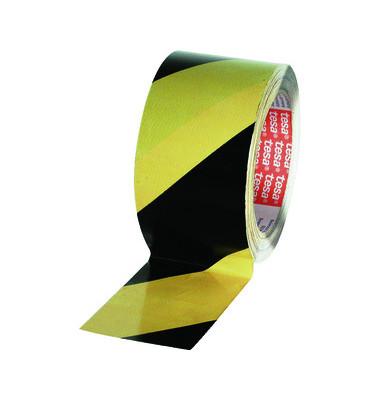 Signalklebeband 6880-25-50, 50mm x 25m, gelb/schwarz