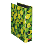 Ordner maX.file Fruits A4 breit 80mm Limonenmotiv