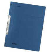 Schlitzhefter Karton ganzer Vorderdeckel blau A4 250g kaufmännische Heftung