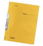 Schlitzhefter Karton voller Vorderdeckel gelb A4 250g Behördenheftung