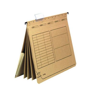 Personalhefter UniReg 80002363 A4 natronbraun 4-teilig