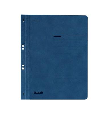 Ösenhefter A4 Amtsheftung / kaufmännische Heftung blau voller Vorderdeckel