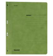 Ösenhefter A4 Amtsheftung / kaufmännische Heftung grün voller Vorderdeckel