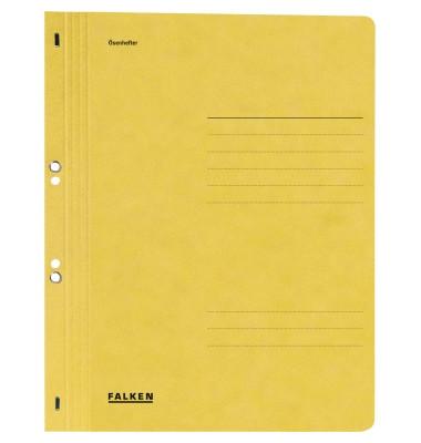 Ösenhefter A4 Amtsheftung / kaufmännische Heftung gelb voller Vorderdeckel