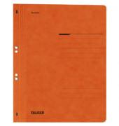 Ösenhefter A4 Amtsheftung / kaufmännische Heftung orange voller Vorderdeckel