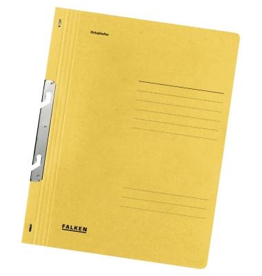 Einhakhefter voller VD gelb A4 kfm.Heft