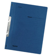 Schlitzhefter Karton voller Vorderdeckel blau A4 250g Behördenheftung