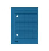 Umlaufmappe 8000 A4 250g blau mit 2 Sichtlöchern
