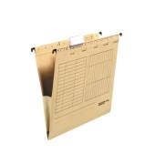 Hängetaschen UniReg A4 braun 230g seitliche Frösche 80004336