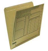 Einstellmappe A4 UniReg Orgadruck braun 230g Kraftkarton