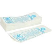 Hygienebeutel 401530 Papier weiß 100 Beutel