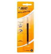 Kugelschreiberminen Atlantis schwarz Blister 2 St