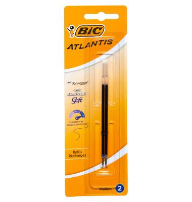 Kugelschreiberminen Atlantis blau Blister 2 St