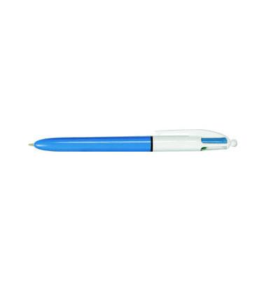 Mehrfarbkugelschreiber 4Colours Original blau/weiß Mine 0,4mm Schreibfarbig 4-farbig