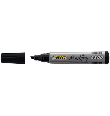 Permanentmarker Marking 2300 schwarz 3,7-5,5mm Keilspitze