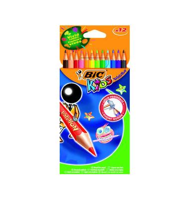 Buntstift Kids Evolution 12-farbig sortiert Kartonetui 12 Stück