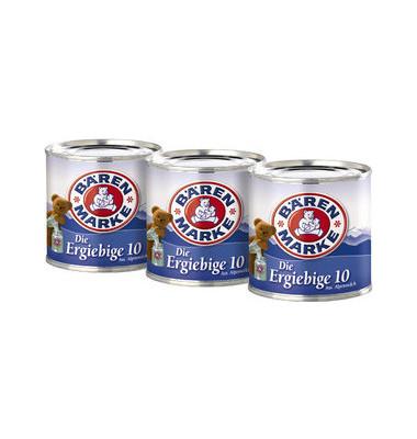 Dosenmilch Die Ergiebige 10% Bärenm. Multipack 3x170g