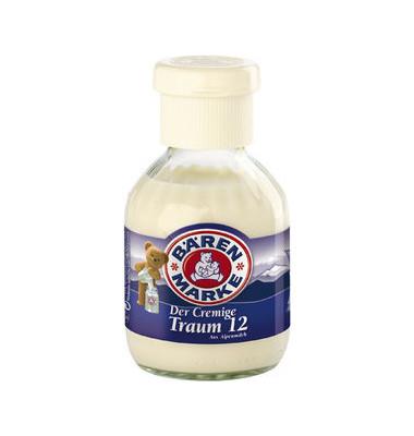 Kaffeesahne Feine Traum 12 12% 24x170g Glasfl.