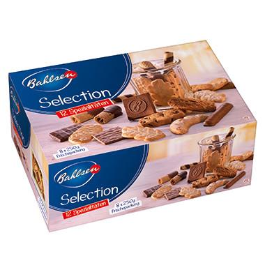 Gebäckmischung Selection verschiedene Kekse 8x 250g